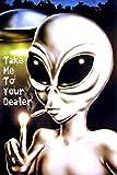 Aliens - Take Me to Your Dealer II - Poster ausserirdischer