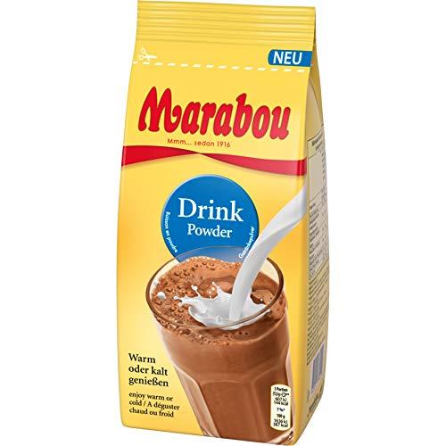 Marabou Kakao Drink Powder, Schokoladiger Trink-Genuss auf schwedisch, Kakaohaltiges Getränkepulver, 450 g