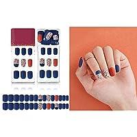 30本 手作りネイルチップ 偽の爪のフルカバー フェイクネイル ネイルのヒント 流行のデザイン