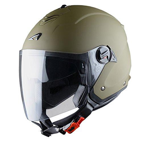 Astone Helmets Jethelm Mini Jet, Army Matt, L