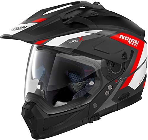 Nolan Herren N70-2 X Grandes Alpes Flat Black M Helmet, M