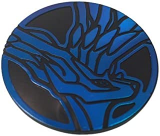 Pokemon Xerneas Coin from The Trading Card Game (Rare, Blue, Large Size)