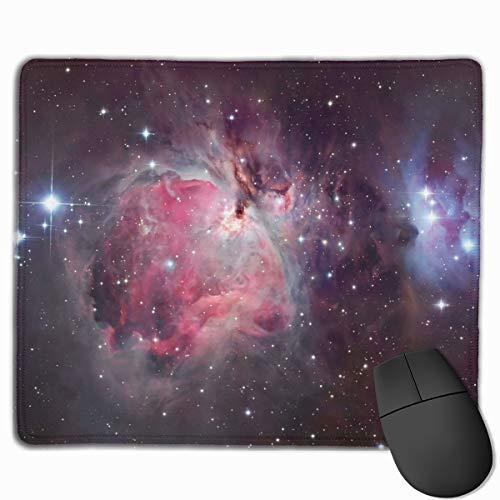 Orion Nebula Galaxy Mauspad, rutschfeste Gummiunterseite, Gaming-Mauspad, rechteckig, Premium-Mauspad für Laptop, Computer & PC, 30 x 24 cm