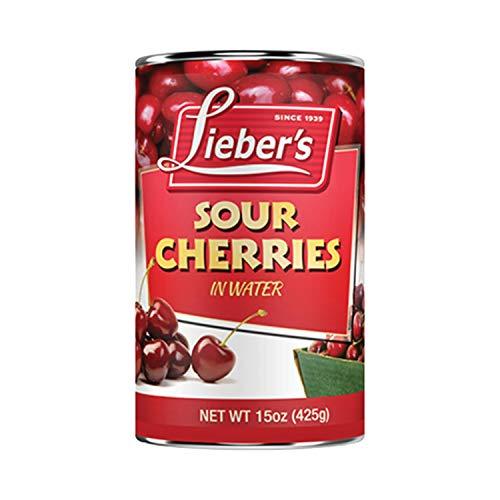Lieber's Sour Cherries 15 Oz - Kosher For Passover (Single)