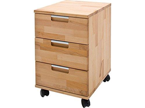möbelando Rollcontainer Bürocontainer Druckerwagen Büroschrank Schubladenschrank Cento