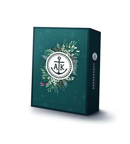Ankerkraut Premium Gewürz Adventskalender 2019, 1er Pack (1 x 1.170 g) | Weihnachtskalender mit 24 Gewürz-Überraschungen | Gewürz Kalender als Geschenk für Männer und Frauen