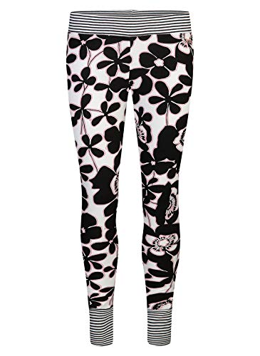 Short Stories Damen Leggings Schlafanzughose, Schwarz (Black 1199.0), 36 (Herstellergröße: XS)