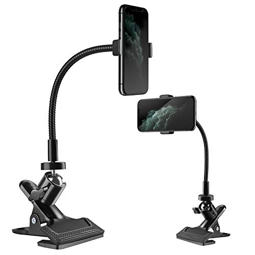 Zacro Soporte para Teléfono Móvil 360° Rotación Soporte Móvil Universal para Teléfono Móvil, Cámara Deportiva, Smartphone Phone Stand para Dormitorio, Oficina, Baño, Cocina