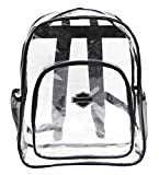 Harley-Davidson Clear Security Backpack - Total Transparency, 16 x 12 x 5 99856