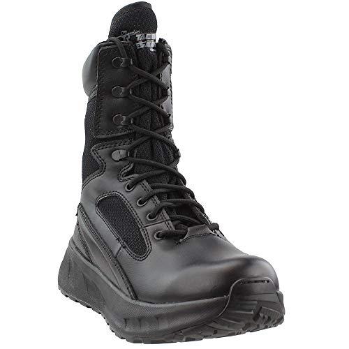Belleville Tactical Research MAXX8Z MAXX 8' Side Zip Boot, Black, 6