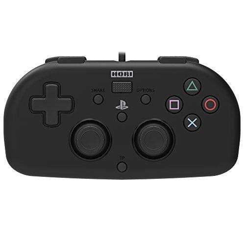 【SONYライセンス商品】ワイヤードコントローラーライト for PS4 ブラック【PS4対応】