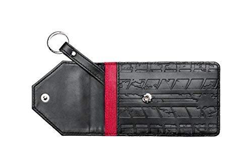 Autoschlüssel Etui Autoschlüsseltasche keyless schwarz echtes Leder mit Abschirmung und schützt vor Hackerangriffen und Datenklau