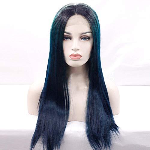 Jolie à la Mode Perruques Perruque pleine longueur en dentelle synthétique avant de lacet perruque cheveux naturels vraiment naturels disponibles,12 pouces