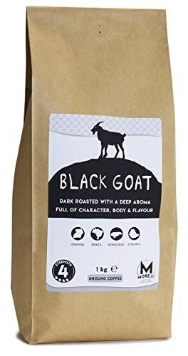 Moreish Black Sheep - Dark Roast Ground Coffee (Filter Grind) - 1kg