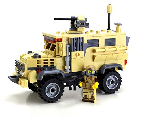 Battle Brick Army MRAP APC Custom Set
