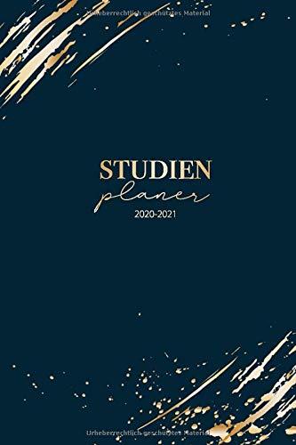 Studienplaner 2020 2021: Kalender und Semesterkalender 20/21 - Studienplaner und Studentenkalender ab März 2020 bis September 2021 - Timer, Terminplaner 2020 - 2021