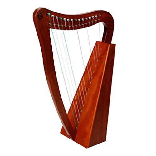 SOI Company Lyre Harp Wooden Mah...