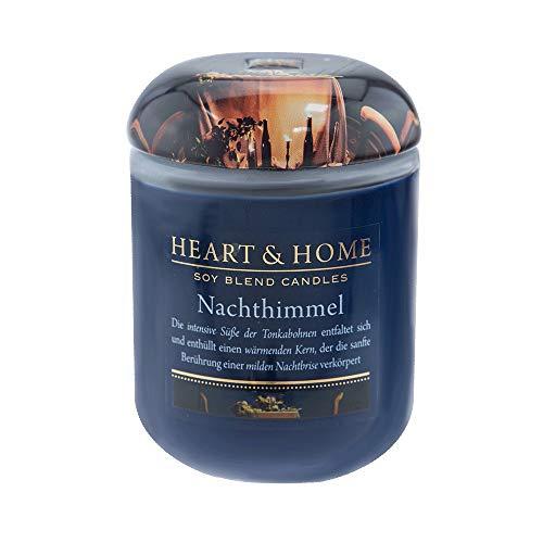 Heart & Home - Home Fragrance Nachthimmel Duftkerze - 340 g