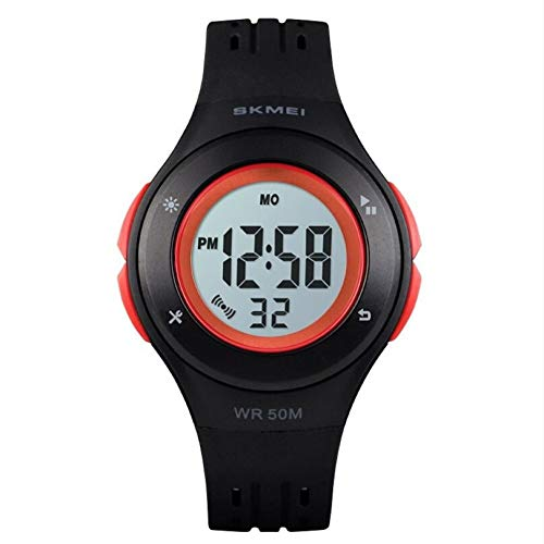 Relógio Digital, Skmei, Meninos, Vermelho