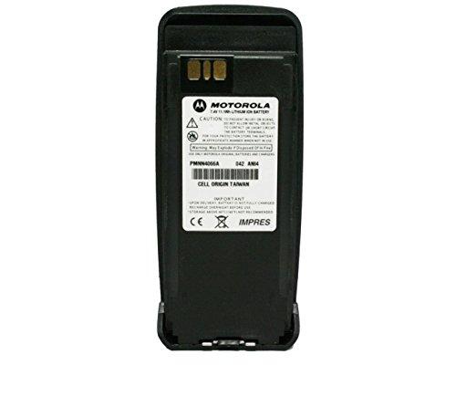 Motorola Original PMNN4066 PMNN4066A Submersible IP57 IMPRES Slim Battery Li-Ion 7.4V, 1700mAh - Compatible with MOTOTRBO XPR6100 XPR6300 XPR6350 XPR6500 XPR6550 XPR6380 XPR6580