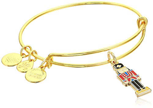Alex and Ani Color Infusion - Nutcracker Bangle Shiny Gold One Size