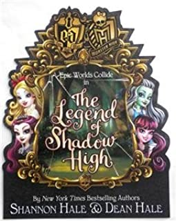 SDCC 2017 Exclusive The LEGEND Of SHADOW HIGH POSTER Monster High