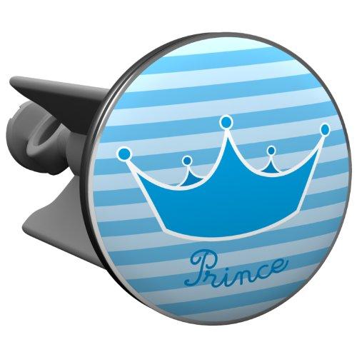 Plopp Waschbeckenstöpsel Prince, Stöpsel, Excenter Stopfen, für Waschbecken, Waschtisch, Abfluss