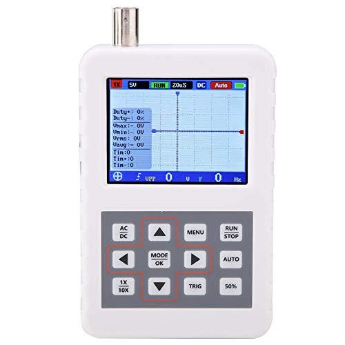 Instrumento de medición digital 5MHz Mini portátil USB LCD 16M Herramienta de osciloscopio de almacenamiento con pantalla LCD de 320 x 240 para la industria