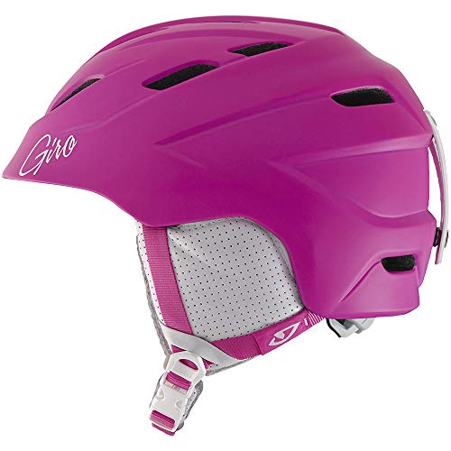GIRO DECADE Damen Snowboardhelm Skihelm Ski Snowboard Helm Helmet 240081(MATTE MAGENTA,M (55.5 - 59cm))