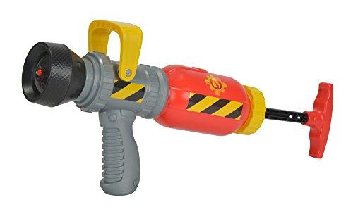 Simba 109251746 - Feuerwehrmann Sam Feuerwehr Wassergewehr / Mit Druckluftmechanismus / 31cm / 450ml Tankvolumen / 9 Meter Reichweite