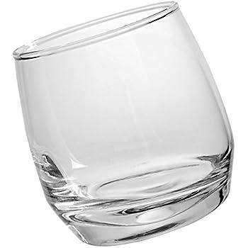 Sagaform 5015280 Bar, Rocking Whiskey Gläser 6er-Set 20cl