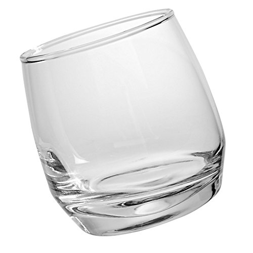 Sagaform Club Whiskey Glasses, Rounded Base, 6-Pack