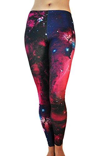 Alive Damen Leggings One Size Gr. One Size, Andromeda