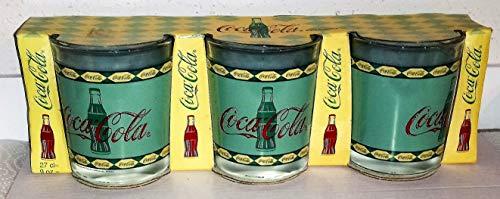 Coca-Cola Verre/Verre/Luminarc/Retro/Vintage 3x0,27 cl/1998
