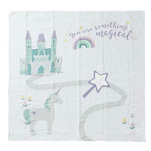 [ ルルジョ ] Lulujo おくるみ ベビー マイルストーンカードセット LJ590 Baby's First Year Something Magical ブランケット 寝相アート 月齢カード 出産 誕生日 ギフト [並行輸入品]
