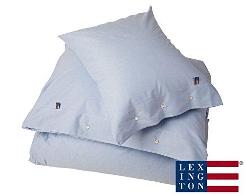 Lexington - Bettwäsche, Bettdeckenbezug - Pin Point - Baumwolle - 155 x 220 cm - Farbe: Blue Duvet