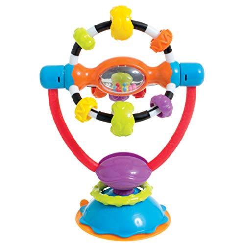 Tigex - Sonajero con ventosa para trona con juguete para girar a partir de 3 meses
