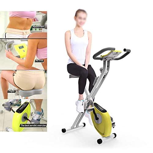 ZCYXQR Mini Bicicletas Plegables para Ciclismo de Interior Bicicleta de Ejercicio giratoria Máquina de Gimnasio doméstica Equipo de Fitness para Entrenamiento Cardiovascular (Deporte de Interior)