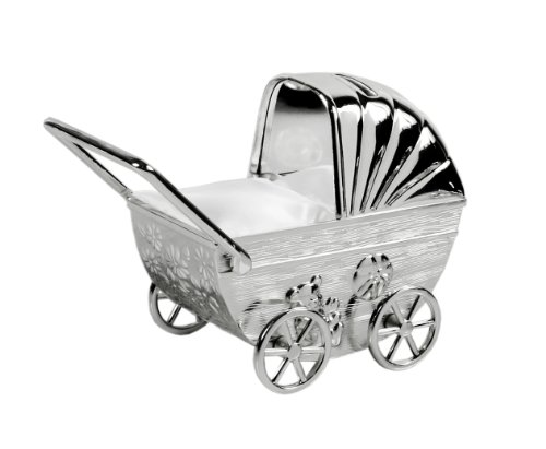EDZARD Spardose Kinderwagen H 11 cm