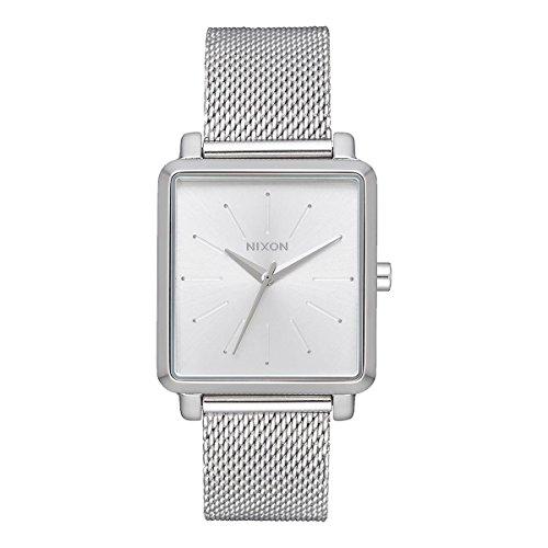 Nixon Damen Analog Quarz Uhr mit Edelstahl Armband A1206-1920-00
