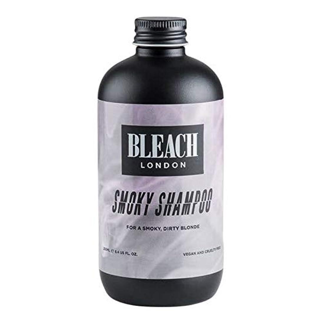 左インセンティブグレートオーク[Bleach London ] 漂白ロンドンスモーキーシャンプー250Ml - Bleach London Smoky Shampoo 250ml [並行輸入品]
