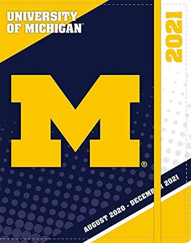 TURNER SPORTS Michigan Wolverines 2021 Sports Monthly Planner (21998730517)