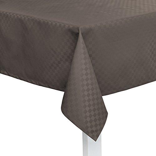 Pichler CASA abwischbare Tischdecke nach Maß anthrazit (Stoffmuster)