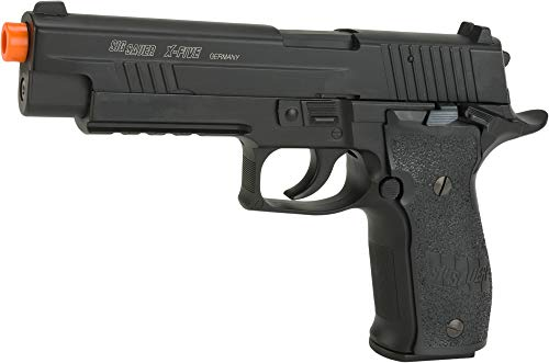 Sig Sauer P226 X-Five CO2 Blowback Tactical Airsoft Pistol, Black