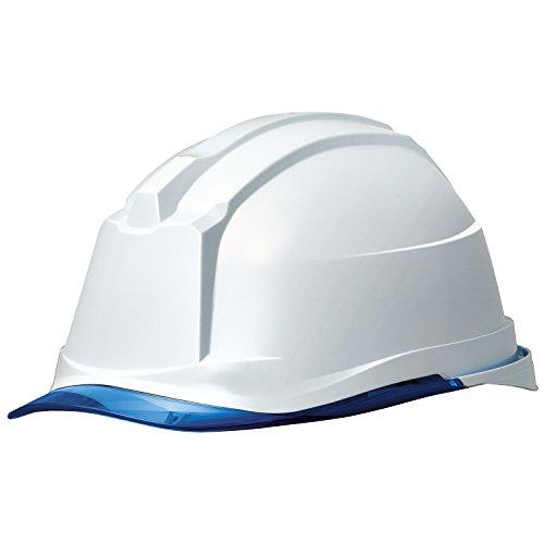ミドリ安全 ヘルメット クリアバイザー SC-19PCL RA3 α ホワイト ブル-