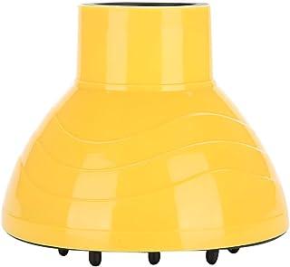Universal Soplador de Peluquería Secador de Pelo Rizado Difusor Cubierta de Herramientas de Peinado Accesorios(Amarillo)