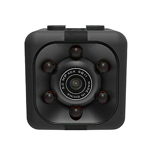 Mini Kamera,Full HD 1080P Tragbare Kleine Überwachungskamera, Mikro Nanny Cam mit Bewegungserkennung und Infrarot Nachtsicht (Mini Kamera)