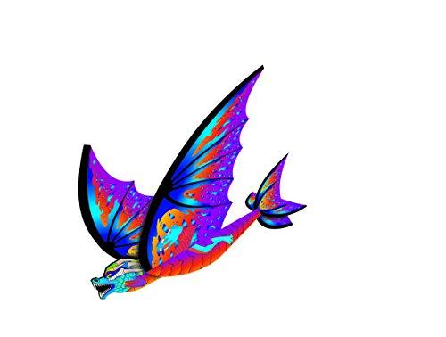 X-Kites FlexWing Dragon Glider, Purple, 16 Inches