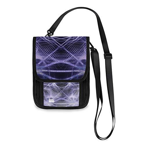 XiangHeFu Brieftasche Telefon Tasche Münzkassette Zusammenfassung Hi Tech Cyber Computer Mode Kartenhalter mit großer Kapazität Geldbörse