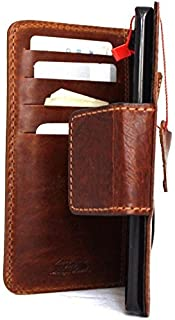 Genuine Real Leather Case for iPhone 6 6s 4.7 Inch Book Wallet Magnet Cover Handmade Slim S Luxury 6 Magnetic Retro Light Brown DavisCase